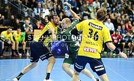 Handball / Fuechse Berlin vs. Rhein Neckar Loewen / DHB-Pokal - Viertelfinale / 18.12.2018