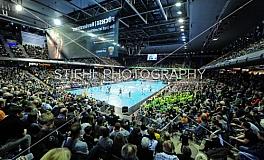 Handball / Fuechse Berlin vs. SC DHfK Leipzig / DKB Handball Bundesliga - 17. Spieltag / 16.12.2018