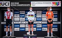 Cycling / Radsport / Strassen Rad WM Imola - Einzelzeitfahren Frauen Elite / 24.09.2020
